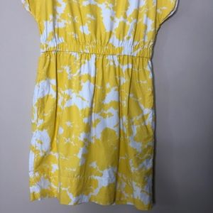 GAP Dresses - Gap Yellow Floral Dress | Size Small